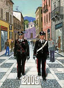 Calendario Carabinieri.Calendario 2005 Dell Arma Dei Carabinieri